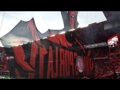 """LBR - TOLUCA VS SANTOS / FINAL CLAUSURA 2018"" Barra: La Perra Brava • Club: Toluca"