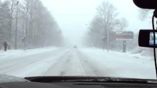 Снежная Зима 2014г БМВ