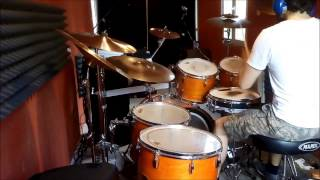 Frekkr - Brûlez Cette Ruine ! (drums training session)