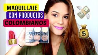 MAQUILLAJE CON PRODUCTOS COLOMBIANOS (SAMY, VOGUE) | Testa Rosa