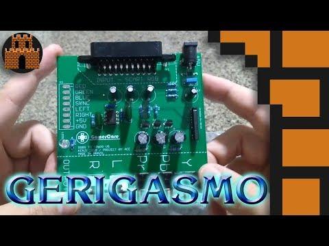 Gerigasmo - Michebow (RGB SCART para YPbPr vídeo componente)