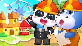 The Cutest Mayor | Firefighter Song, Doctor Cartoon | Nursery Rhymes | Kids Songs | BabyBus