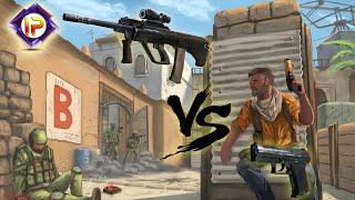 Автомат, пистолет или снайперка...ЧТО ЛУЧШЕ?!
