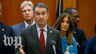WATCH LIVE: Virginia's governor provides coronavirus response update, announces stay-at-home order