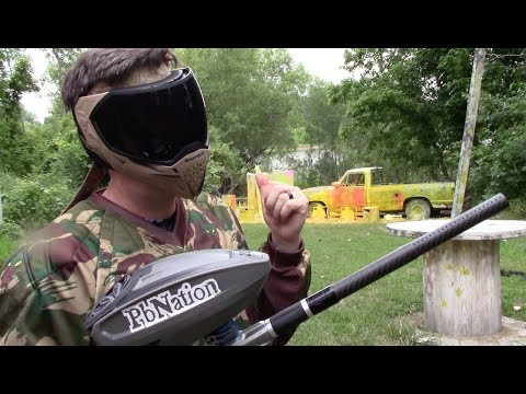 Ordering paintballs through the mail a good idea? HKArmy paint test and review!