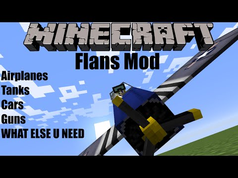 Flans Mod Minecraft Tutorial Review