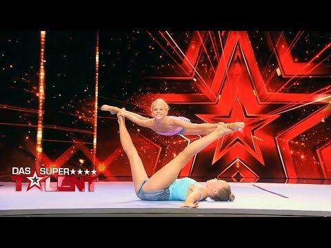 Anna und Xenia flashen die Jury | Das Supertalent 2018 | Sendung vom 15.09.2018