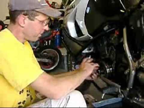 2008 KLR650 Doohickey problem revealed.