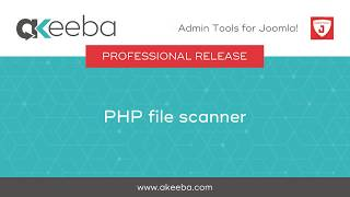 Watch a video on PHP File Scanner [03:30]