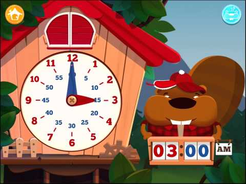 Screenshot of video: Tic Toc Time App