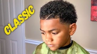 BLACK KIDS NATURAL HAIRSTYLES FOR CURLY HAIR I MR OUTLINER