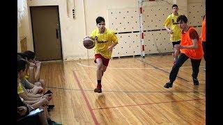 "Баскетбол. Юноши.  ""Школа №9"" - ""Школа №17"".  ОБЗОР"