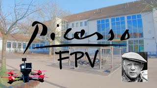 Picasso-Grundschule FPV Flight - Flying at my old School