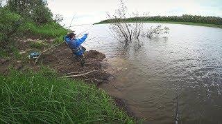 Рыбалка в графиях на северных реках