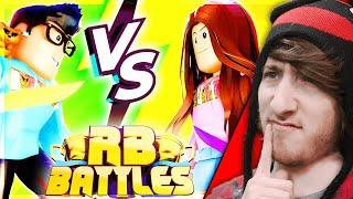 HYPER VS CARI! [Reaction] Roblox RB Battles Championship