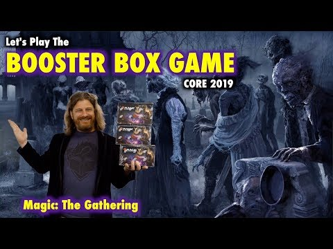 MTG – Let's Play The Core Set 2019 Booster Box Game for Magic: The Gathering!