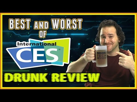 Best and Worst Gadgets & Tech of CES 2017 - Drunk Tech Review