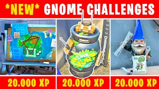 ALL *NEW* GNOME CHALLENGES (Secret Lair - All 5 Traps - Aftermath 60.000 XP)