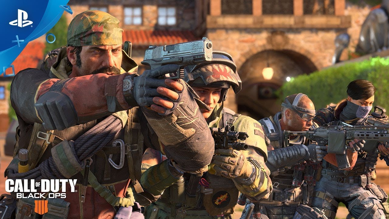 Call of Duty: Black Ops 4 Multiplayer Beta Starts Today on PS4
