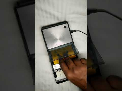 VINTAGE 1970s Panasonic Rq-209das Ac/dc Cassette Tape Recorder Player