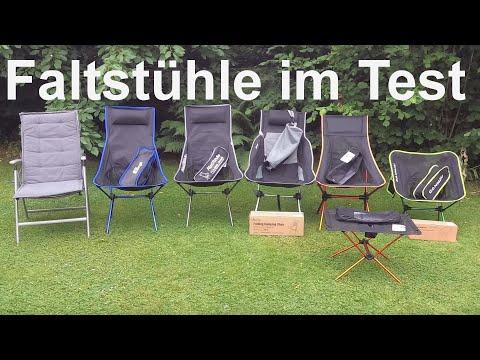 neue Alu(Steck)Stühle im Test für den Kastenwagen 🏕️ #G8N