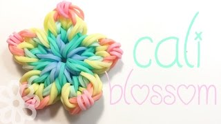 Cali Blossom | Hook Only | Rainbow Loom Charm