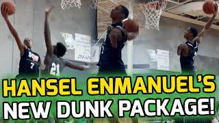 ONE ARMED Hansel Enmanuel Pulls Out INSANE 360 SCOOP DUNK! New Bag Moves Go Crazy! 🤯