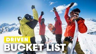 The Bucket List Shots of A Snowboard Film | The Making of DRIVEN w/ John Jackson