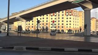 preview picture of video 'View of Abu Baker Al Siddique Road Junction Corner, Dubai'