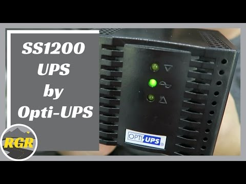 SS1200 UPS by Opti-UPS | Product Review | 6-Outlet Voltage Regulator