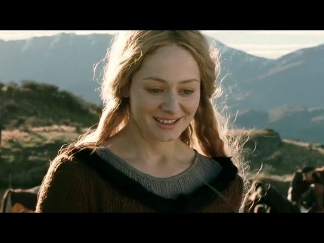 Eowyn Talks With Aragorn - LOTR The Two Towers HD