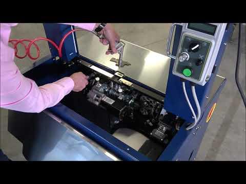 Ampag Speed: Rengöring av maskinen