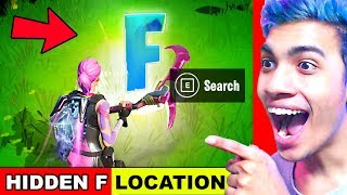 """Search the Hidden """"F"""" in the New World Loading Screen - Location Fortnite Chapter 2 Season 1"""