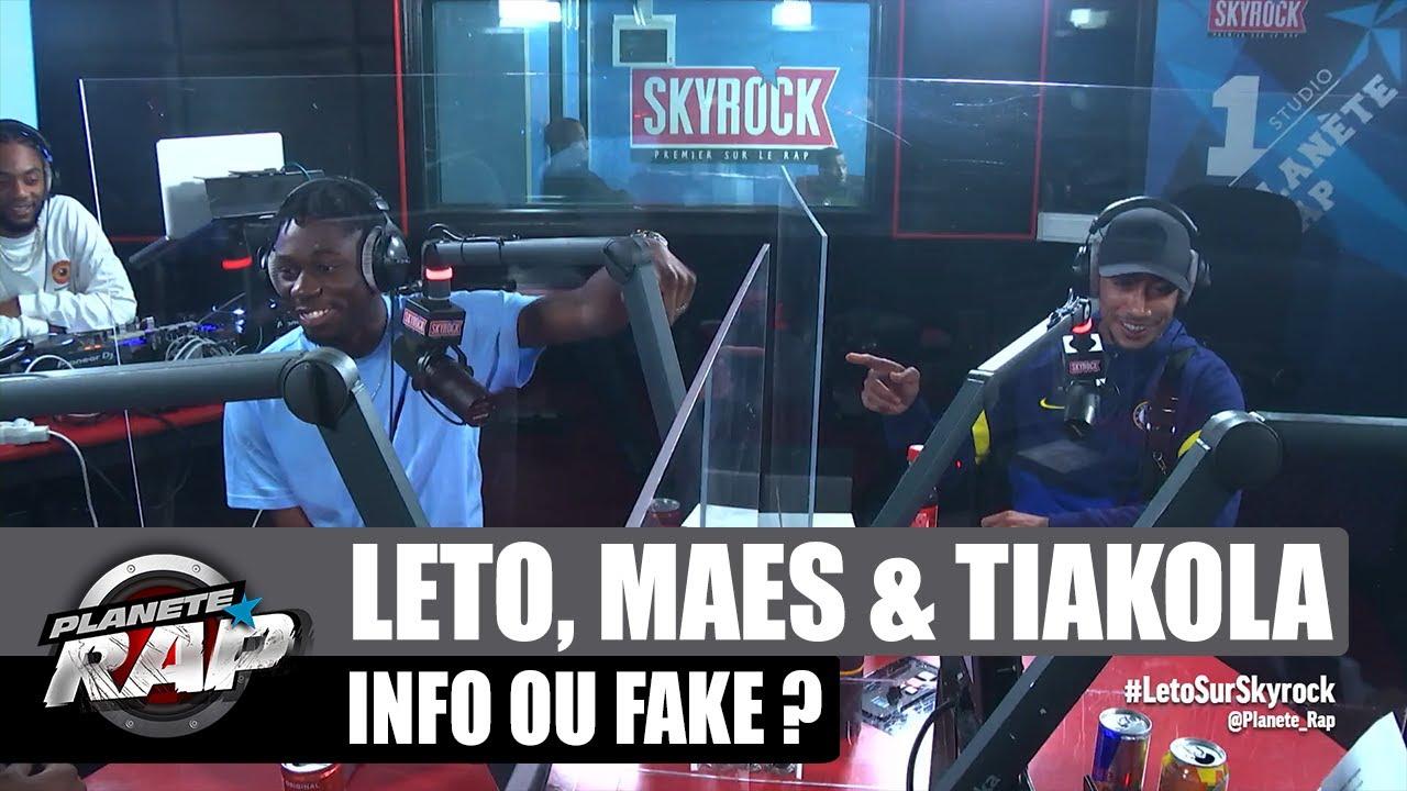 LETO en GARDE À VUE ? Info ou Fake ? avec Maes & Tiakola ! #PlanèteRap