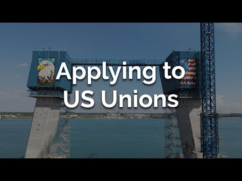 How to apply for a US Union job on the Gordie Howe International Bridge project