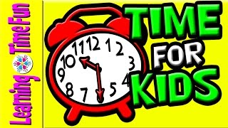 Tell Time for Kids   Hour, Half Hour   Time for Kids   Telling the Time, Analog Clock, Digital Clock