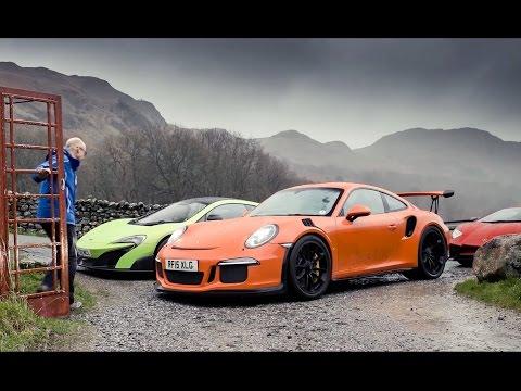 Lamborghini Aventador SV vs Porsche 911 GT3 RS vs McLaren 675LT | Top Gear