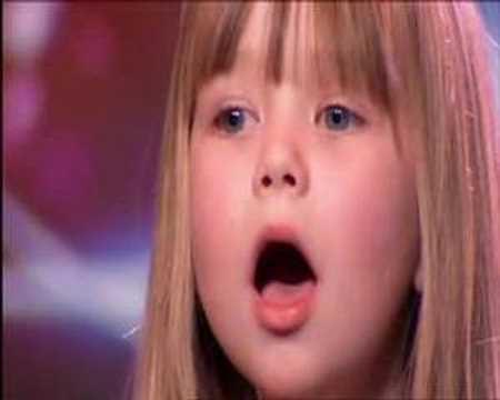"☆""Britains Got Talent or Americas Got Talent ♥ Connie Talbot WOWs Simon Cowell !""- MTW"