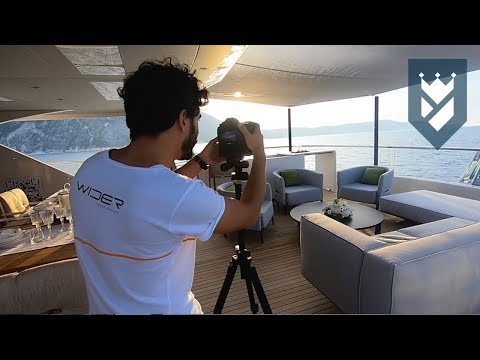 WIDER 165 SUPERYACHT - A BEHIND THE SCENES TOUR