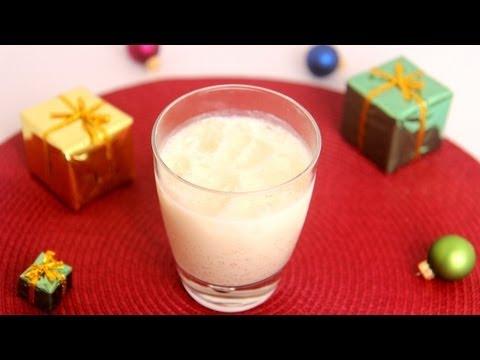 Homemade Eggnog Recipe- Laura Vitale – Laura in the Kitchen Episode 510