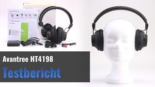AVANTREE HT4189 im Test - Bluetooth-Kopfhörer mit Transmitter für den Fernseher