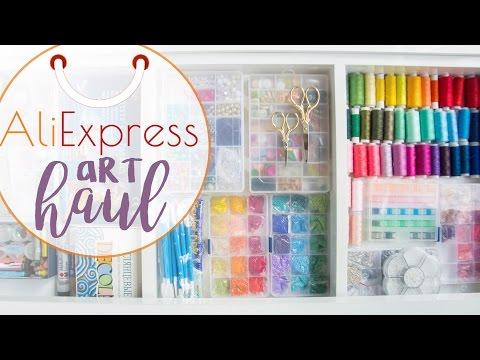Покупки с AliExpress | Товары для творчества | Канцтовары видео