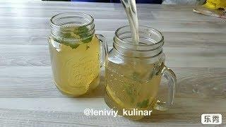 Холодный чай-- настоящее спасение от летней жары!