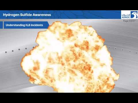 Adnoc Hydrogen Sulfide Awareness