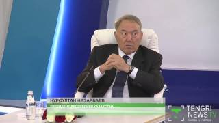 """Нурсултан Назарбаев-""""Где ты научился так подмазываться?"""""""