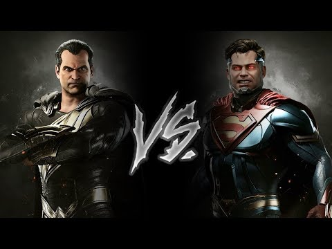 Injustice 2 - Black Adam Vs. Superman (VERY HARD)