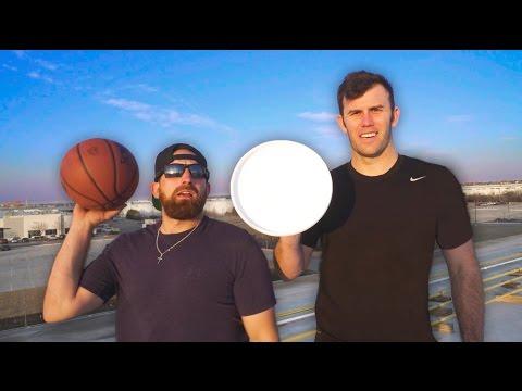Epic Trick Shot Battle 3   Dude Perfect (видео)