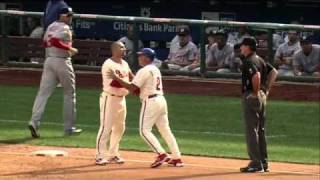 2010/09/19 Victorino's ejection
