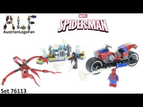 Vidéo LEGO Marvel Super Heroes 76113 : Le sauvetage en moto de Spider-Man