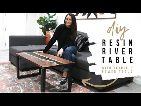 Download DIY Resin River Coffee Table (In A Small Workshop) Mp4 HD Video and MP3